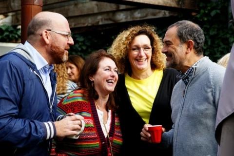 Veel lachen tijdens het Spaanse weekend